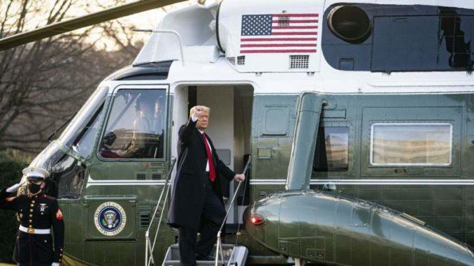 Tramp napustio Belu kuću 6