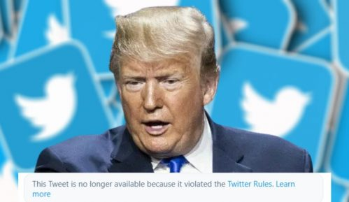 Tviter i Fejsbuk privremeno suspendovali Trampov nalog 11