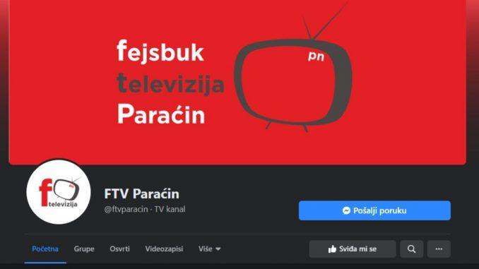 Gušenje lokalne FB strane Infocentrale u Paraćinu 5