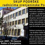 Novi protest radnika pošte u Zrenjaninu 3