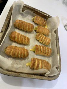Vege recept: Rollgapčići sa dimljenim veganskim kačkavaljem 12