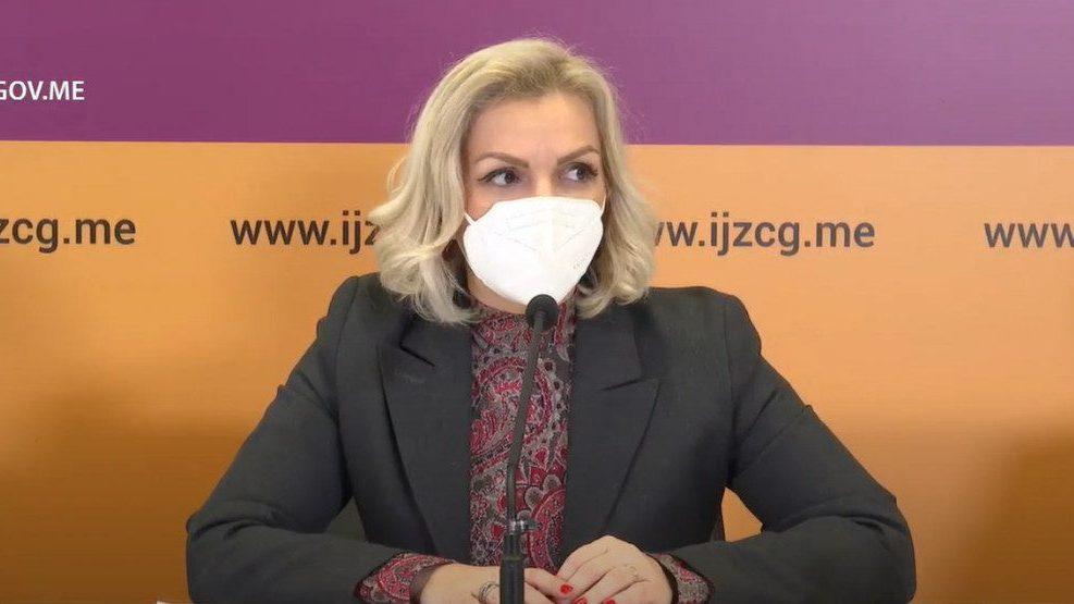 Ministarka zdravlja CG predlaže uvođenje dodatnih ograničenja 1