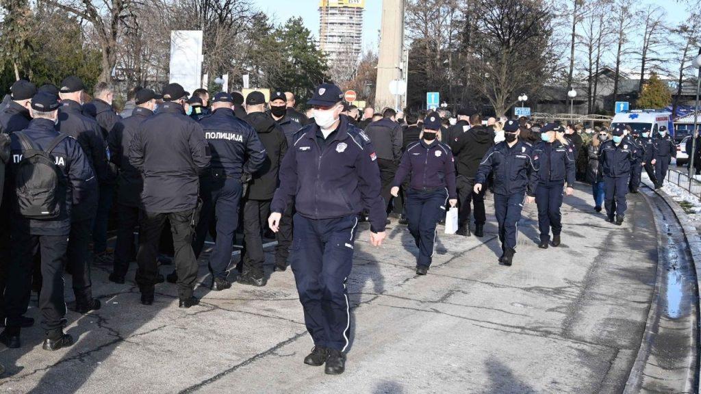 Na Beogradskom sajmu vakcinisano više od 500 pripadnika MUP-a 3