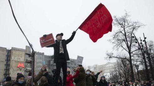 Ruska policija uhapsila više od 2.600 demonstranata koji traže oslobađanje Navaljnog (FOTO) 6