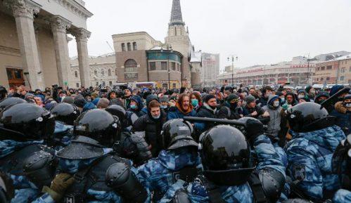 Supruga Navaljnog novčano kažnjena zbog učešća na protestu 11