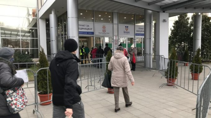 Vesić: Do sada vakcinisano više od 100.000 Beograđana 5