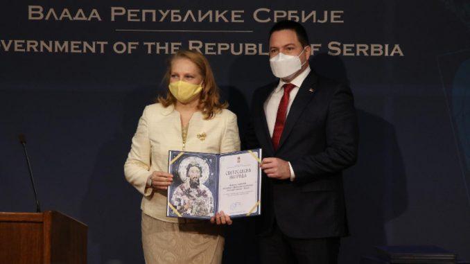 Prosvetnim radnicima i organizacijama uručene Svetosavske nagrade 1