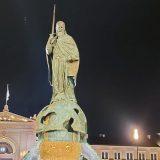 Priveden strani državljanin zbog sumnje da je oštetio spomenik Stefanu Nemanji 12