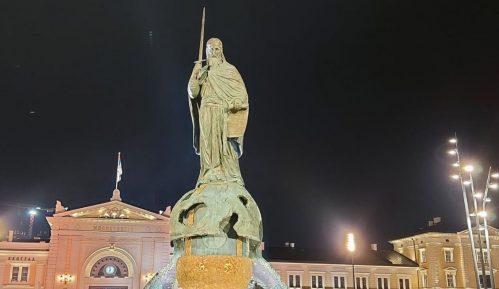 Priveden strani državljanin zbog sumnje da je oštetio spomenik Stefanu Nemanji 3
