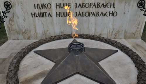 "Vesić: ""Večna vatra"" ponovo gori 1"