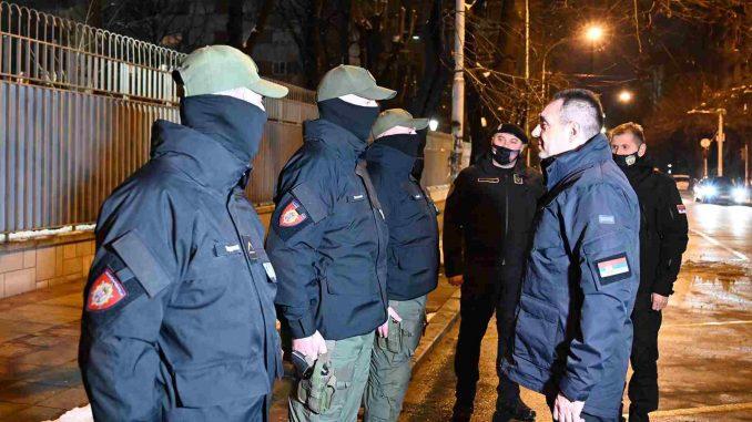 Policijskim službenicima ministar čestitao Novu godinu po julijanskom kalendaru 1