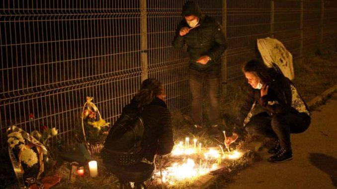 Nišlije na mestu pogibije pešaka protestovale zbog bahatih vozača 3