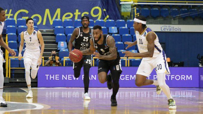 Košarkaši Partizana izgubili u gostima od Metropolitana 3
