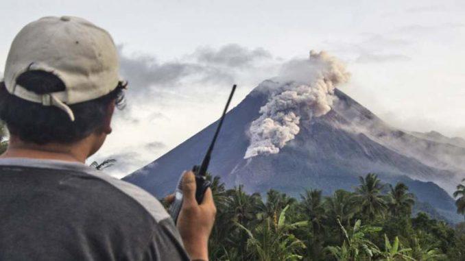 Aktivirao se indonežanski vulkan Merapi 1