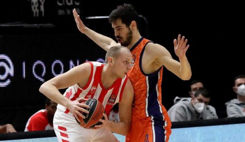 Košarkaši Zvezde izgubili od Valensije 1