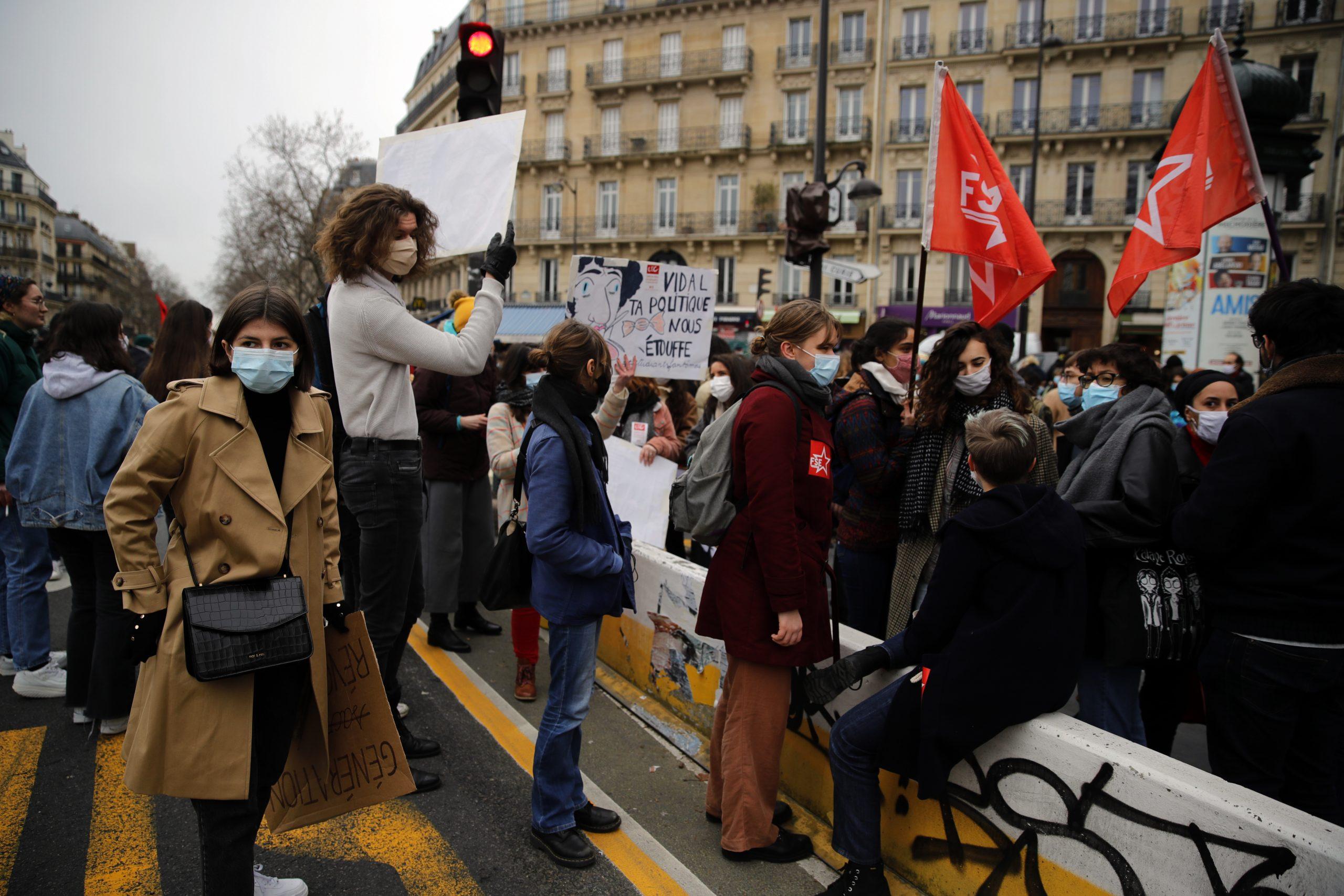 U Francuskoj štrajk i protesti prosvetnih radnika 3