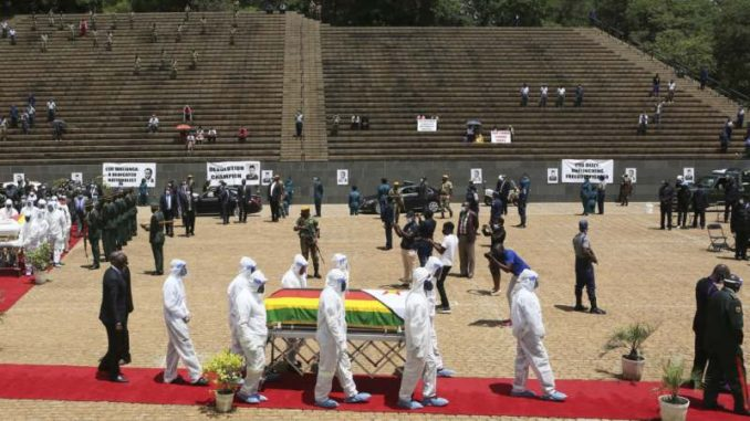 Četiri ministra u Vladi Zimbabvea umrla od korona virusa 1