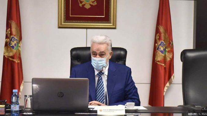 Vlada Crne Gore: Brnabić već mesec dana ignoriše poziv 5