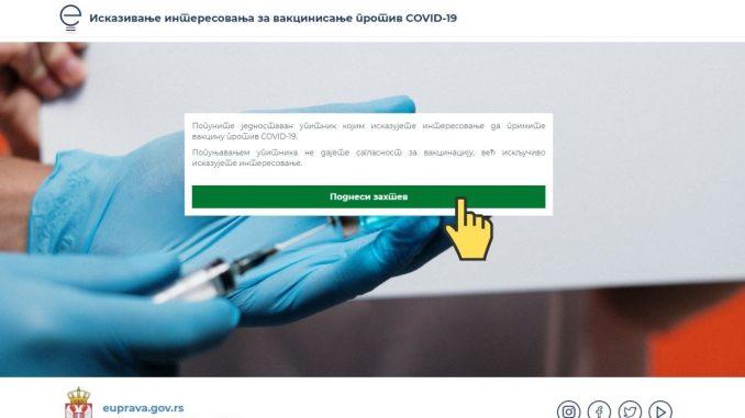 Jovanović: Prijava za vakcinaciju preko kol centra od 8 do 20 časova, sigurnije preko portala 5