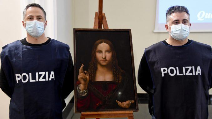 Italijanska policija našla ukradenu sliku Leonarda da Vinčija 4