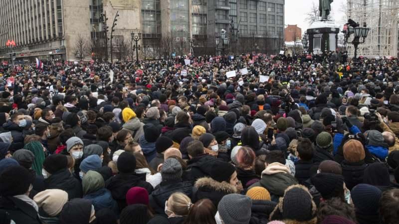 Vlasti krive TikTok i SAD zbog marša na Kremlj 1
