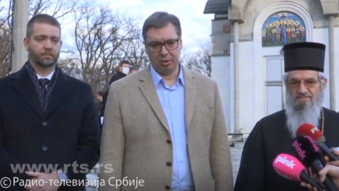 Pred Vučićem u Kragujevcu samo mikrofoni RTS, Pinka i Tanjuga 4