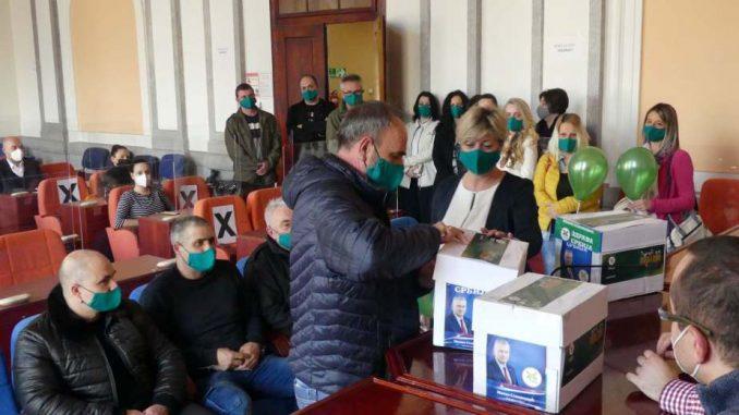 Zdrava Srbija predala listu za lokalne izbore u Zaječaru 4