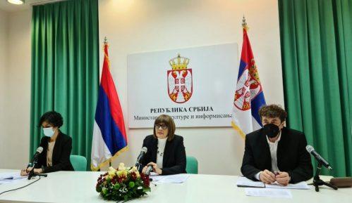 Gojković: Predložiću da se ustanovama kulture dozvoli veći broj publike 14