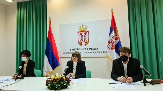 Gojković: Predložiću da se ustanovama kulture dozvoli veći broj publike 4