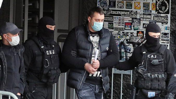 Viši sud produžio pritvor Veljku Belivuku i njegovoj grupi 3