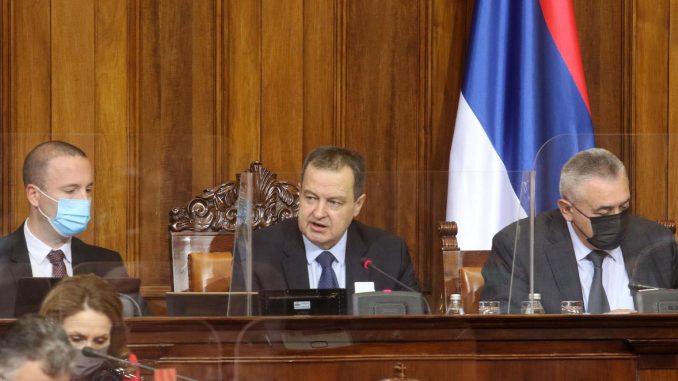 EWB: Dačićeva izjava se razlikuje od izjave poslanika EP 1