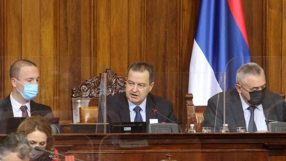 Dačić: Aktuelni saziv skupštine usvojio 155 zakona, obavio dobar posao za građane 1