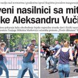 """Oslobođeni za """"nevolje"""" na Vučićevoj inauguraciji 2"""
