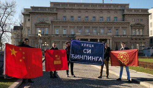 Komunisti predali zahtev Skupštini Beograda, traže ulicu Si Đinpinga 10