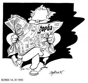 Koraks: Današnje karikature iste kao devedesetih, samo su drugi likovi 2
