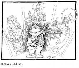 Koraks: Današnje karikature iste kao devedesetih, samo su drugi likovi 3