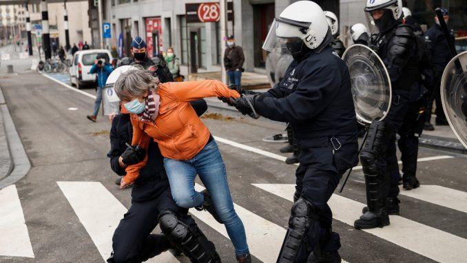 Najžešće demonstracije u srcu Evropske unije 4