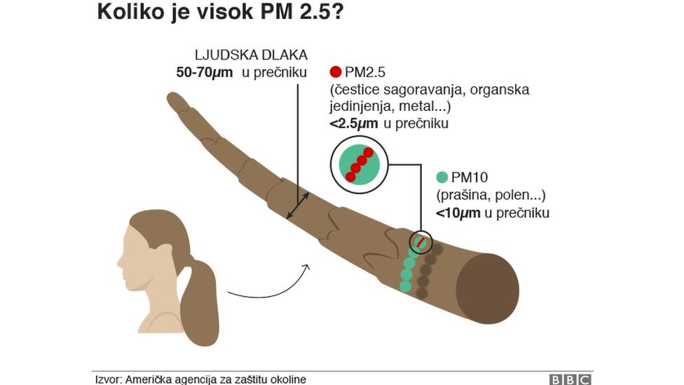 Koliko su štetne PM čestice