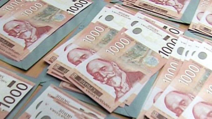 Prosečne zarade u Srbiji u decembru 66.092 dinara 1