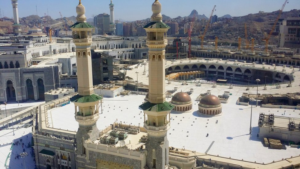 Panoramic view of Mecca
