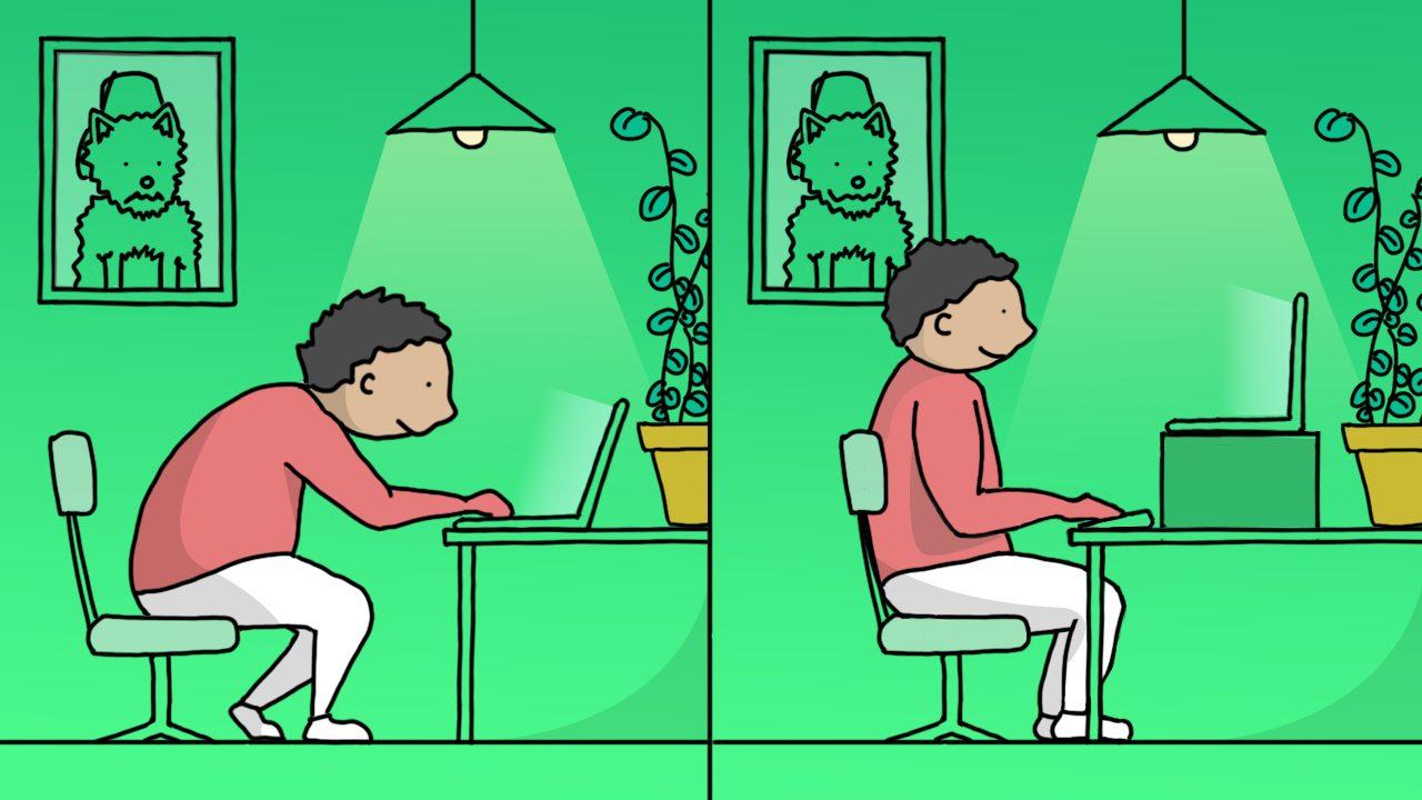 Illustration of workspace