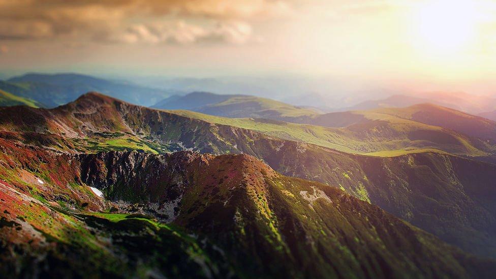 Mountains in Maramures County, Romania