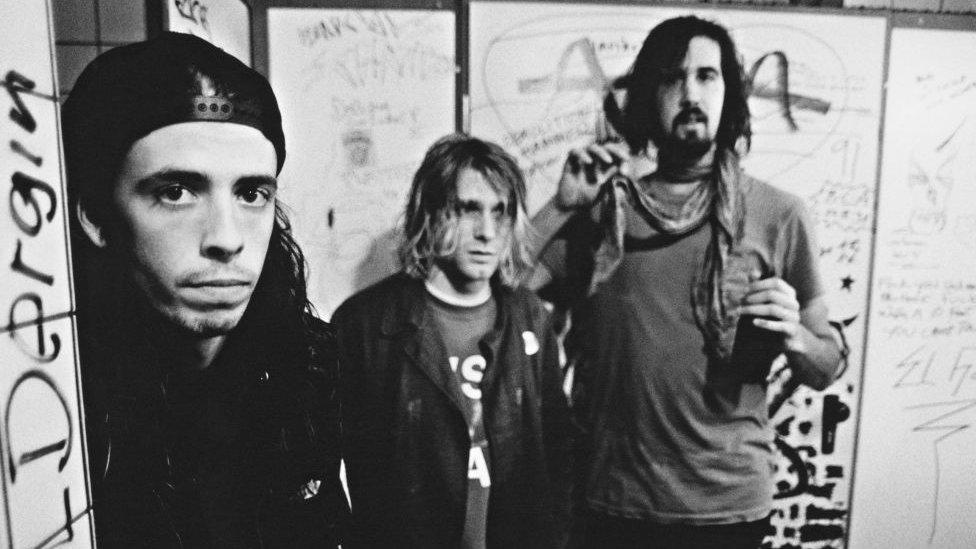 Nirvana in 1991