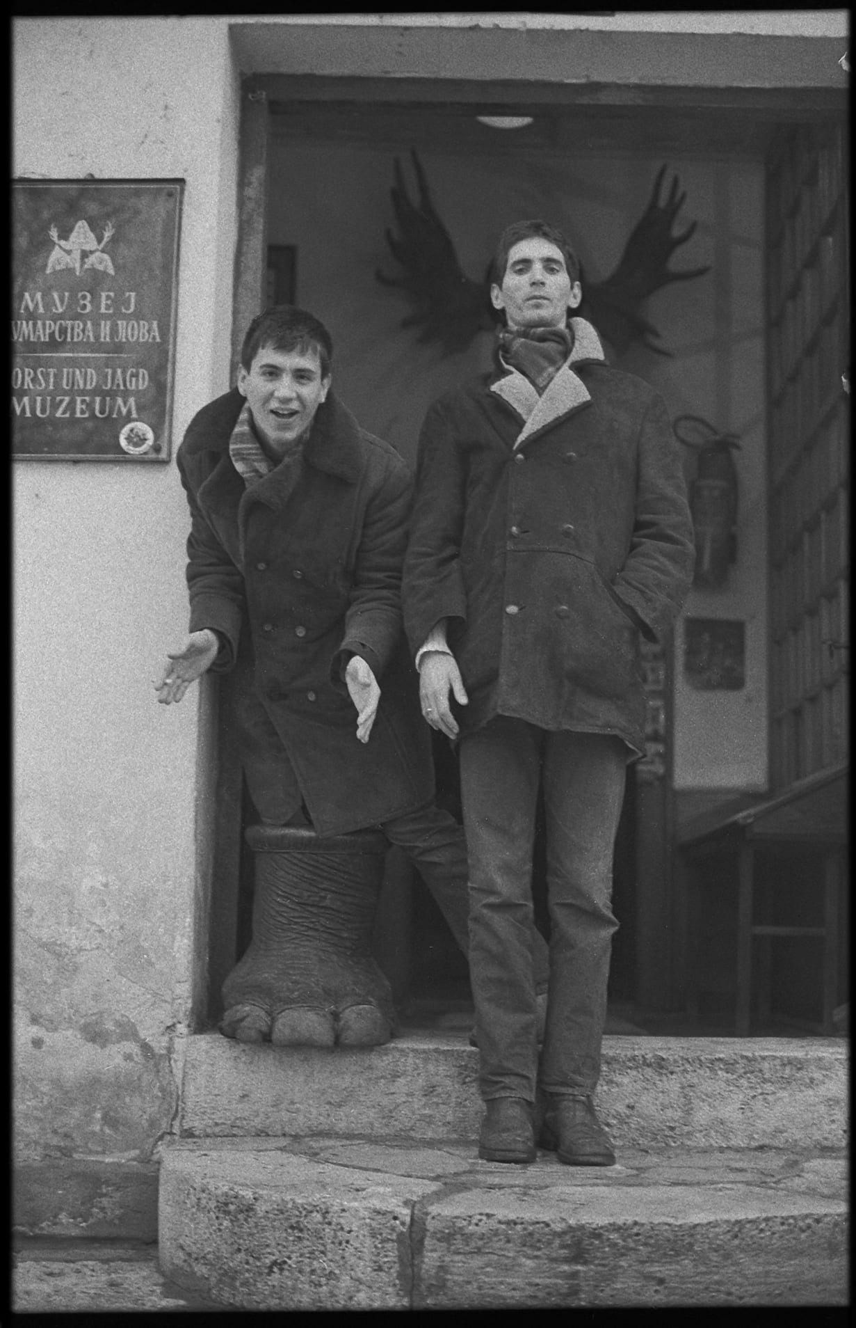 Milan Mladenović i Srđan Gojković Gile