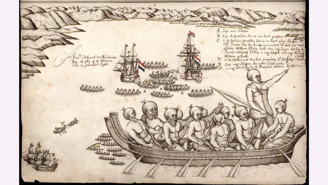 Tasmanovi brodovi napustili su Novi Zeland posle krvavog okršaja sa narodom Maora - ali on je verovao da je pronašao legendarni južni kontinent
