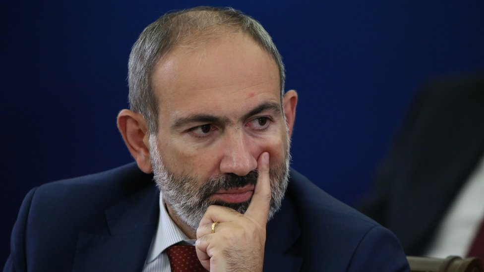 Armenian Prime Minister Nikol Pashinyan. File photo