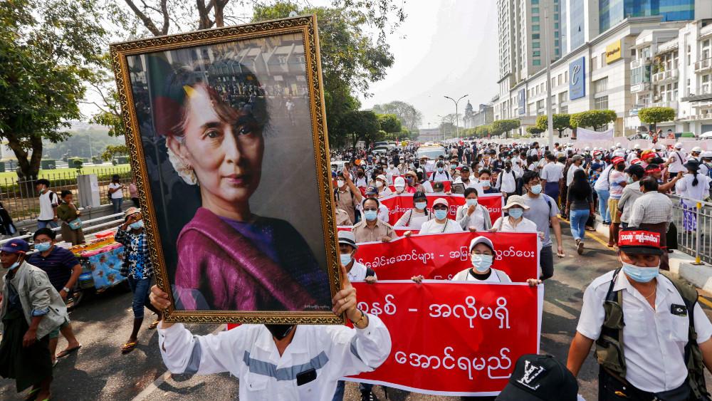 U Mjanmaru održan najveći protest protiv vojske od početka demonstracija 1