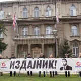 Protest ispred Predsedništva Srbije: Vučić radi na stvaranju albanske države 1