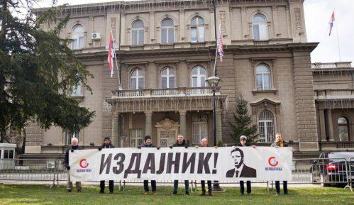 Protest ispred Predsedništva Srbije: Vučić radi na stvaranju albanske države 14