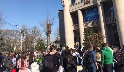 Studenti Pravnog opet protestovali (VIDEO) 4